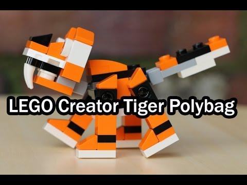 Vidéo LEGO Creator 30285 : Le tigre