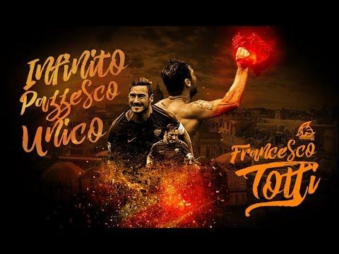 Francesco Totti - AS Roma's Hero - Legend - Amazing Goals, Skills, Passes, Assists - 2016 - HD