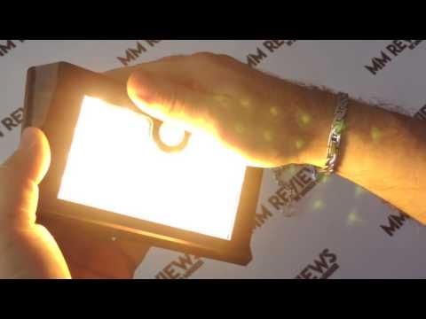 RECENSIONE Lampada da esterno Solare con Sensore di movimento GRANDBEING