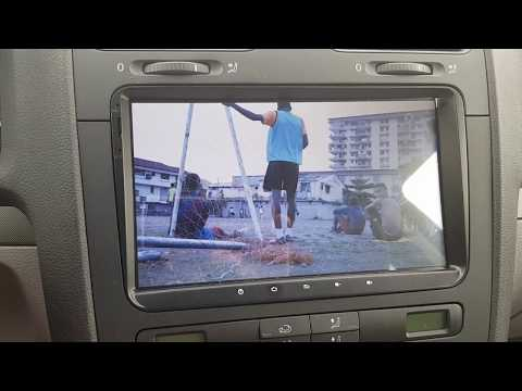 TV schauen im Auto - Günstiger DVB-T2-USB-Stick an einem Android 8.0 Autoradio von Asure