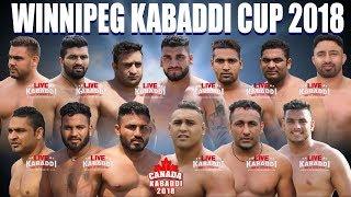Live Kabaddi - Winnipeg Kabaddi Cup 2018 | Canada Kabaddi