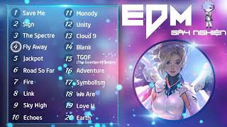 Top 20 bản nhạc EDM hay nhất thế giới