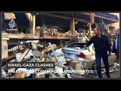 Islamic Jihad commander among four killed in Israeli air raids