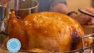 Turkey with Brown-Sugar Glaze   Thanksgiving Recipes   Martha Stewart