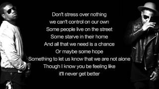 R. City - Don't You Worry (LYRICS)