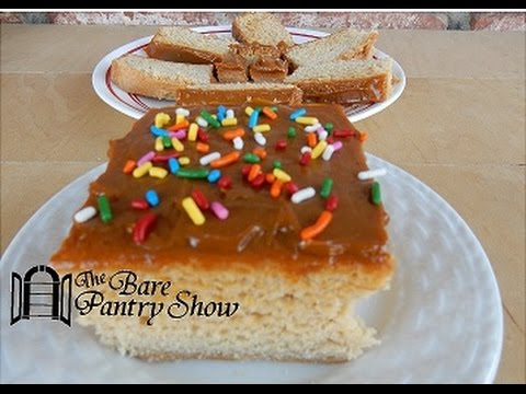 Video How to Make Applesauce Cake/Bread