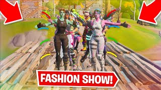 Fortnite   Fashion Show! Skin Competition! Best DUOS & EMOTES WINS! [1/8]