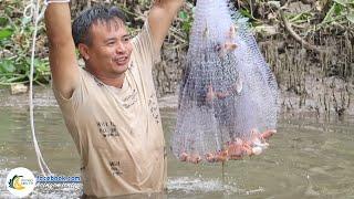 Chài Kiểu Này Bắt Cá Mỏi Tay | Hội Ngộ Miền Tây - Tập 283