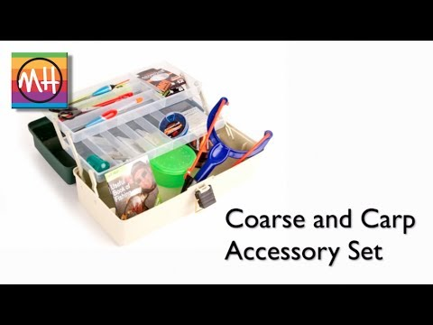 Matt Hayes introduces the new Coarse and Carp Accessory Kit – ideal for beginners!