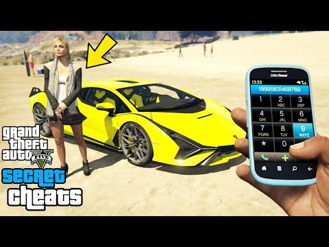 , title : 'GTA 5 - Secret Phone Cheats! (PC, PS4, PS3 & Xbox One)