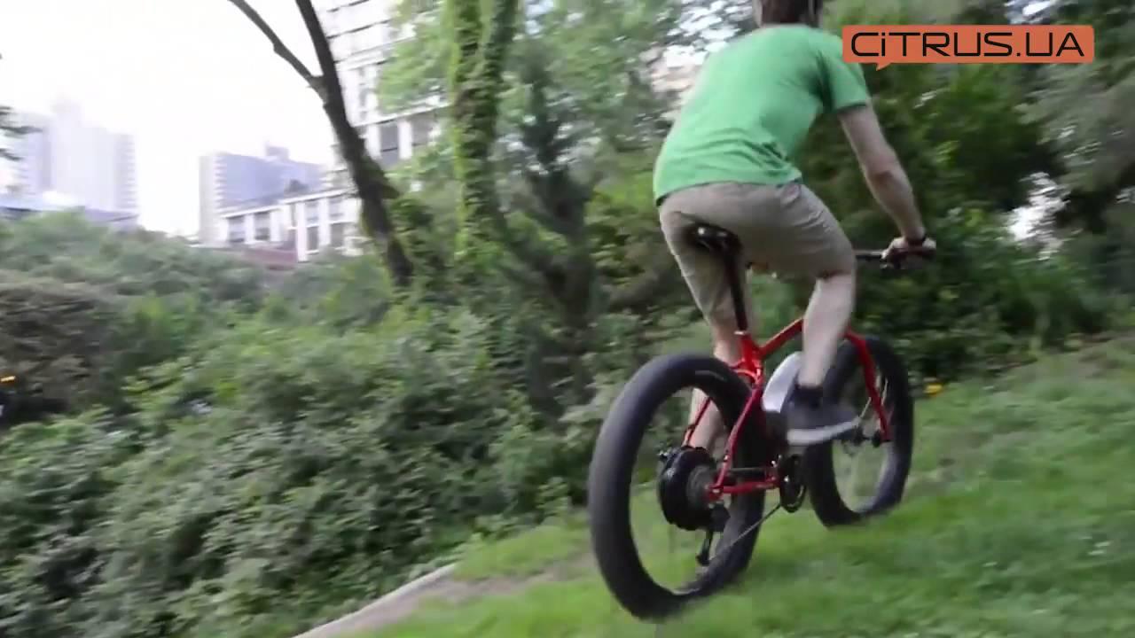 Электровелосипед Like.Bike Hulk (green) video preview