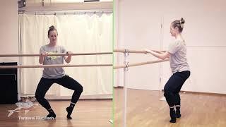 Ballett: Aleksandras Stange 01 – warm up
