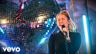 Mark Ronson, Miley Cyrus   No Tears Left To Cry (Ariana Grande Cover) In The Live Lounge
