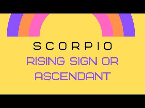Ascendant In Scorpio