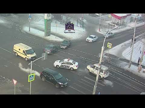Высотная - Хабаровская 1-ая 12.02.2019 ЧП Красноярск