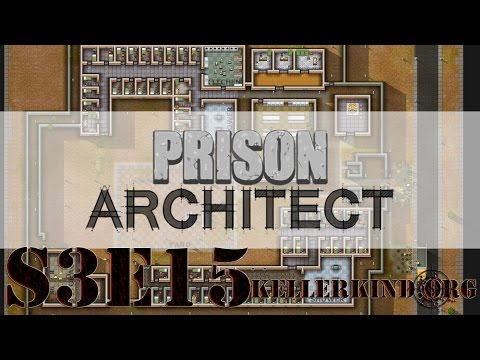 Prison Architect [HD] #042 – Gefahrenstufe: Gelb ★ Let's Play Prison Architect