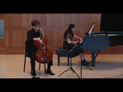 Elliott Carter Sonata for Cello and Piano: II. Vivace, molto leggiero