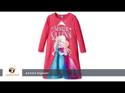 NAME IT Mädchen Nachthemd Nitfrozen K Nightdress 116 | Erfahrungsbericht/Review/Test