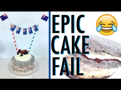EPIC CAKE FAIL | What would YOU have done? | LIVE & UNCUT Baking Disaster