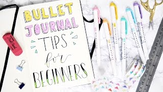 Bullet Journaling Tips For Beginners + (CLOSED) GIVEAWAY Ft. AmandaRachLee | Bujo 101 | Miss Louie