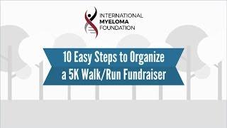 IMF 10 Steps to Organize a 5K Walk Run Fundraiser