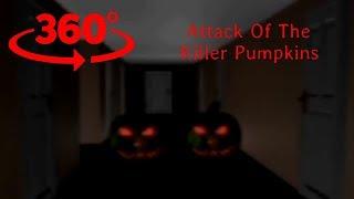 VR 360° video animated Attack Of The Killer Pumpkins Cardboard