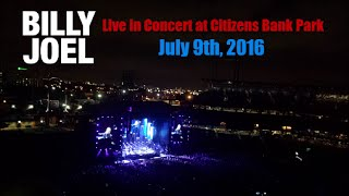Billy Joel Live At Citizens Bank Park
