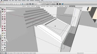 SketchUp Skill Builder: Group axis and bounding box
