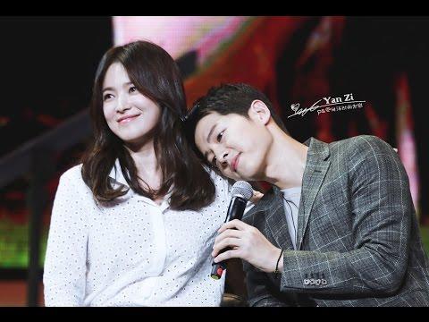 160617 송중기 Song Joong Ki Chengdu Fan Meeting full 宋仲基成都粉丝见面会 송혜교 Song Hye Kyo