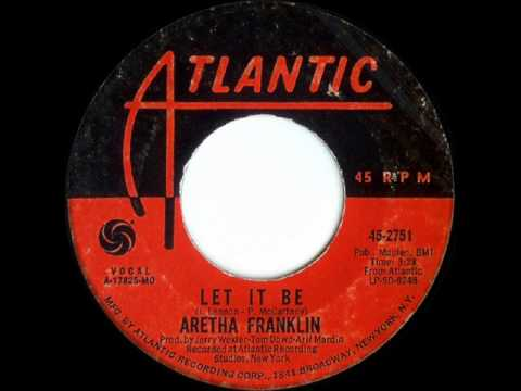 "Aretha Franklin ""Let It Be"""
