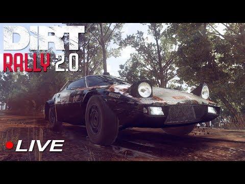 Dirt Rally 2.0 Experience and Career Walkthrough #3 | Live