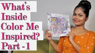 Part 1| Review & Flip Color Me Inspired By Kristina Webb | Prachi Gajjar