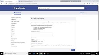 Facebook Deleted Group problem Solution?