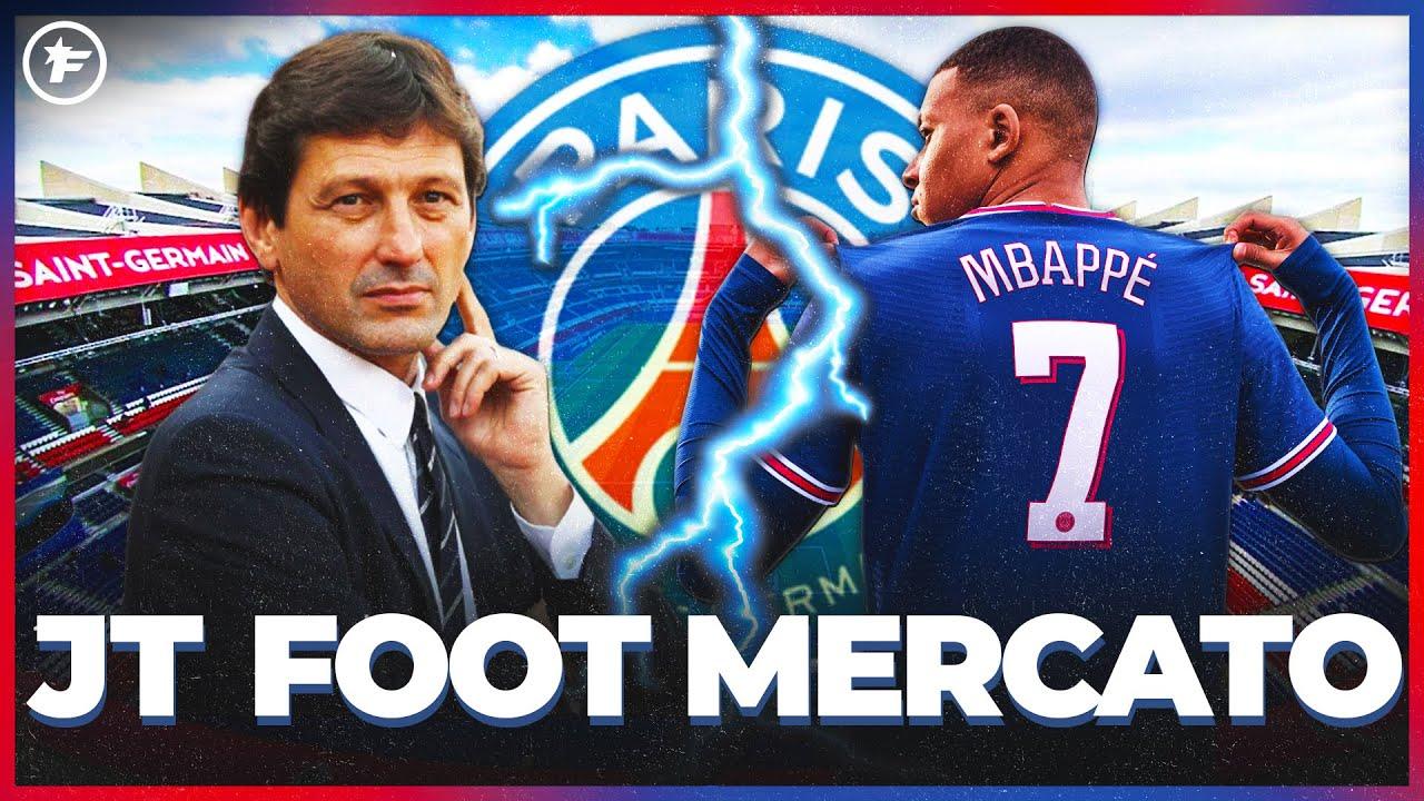 Leonardo POSE les conditions d'un DÉPART de Kylian Mbappé au Real Madrid   JT Foot Mercato