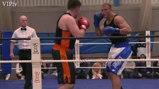 Novice Class A National ABA 1/4 Finals - Tom Pendlebury vs Steven Robinson 91kg+