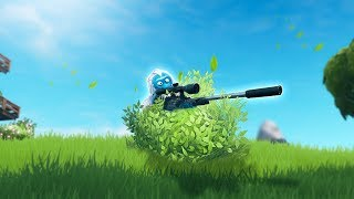 🌳 ARBUSTO  + SNIPER SILENCIADO! FORTNITE: Battle Royale