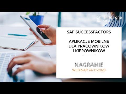 SuccessFactors – aplikacje mobilne dla pracowników i kierowników