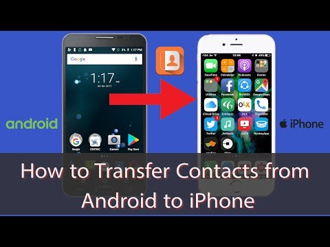 How To Easily Transfer Contacts From Android to iPhone