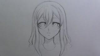 Mini Tutorial: How To Draw Female Manga/ Anime Hair