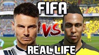 FIFA VS REAL LIFE | EPIC SPRINT RACES VS FASTEST FIFA PLAYERS!