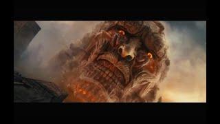 Attack On Titan Part 1 Clip Colossal Titan Appears