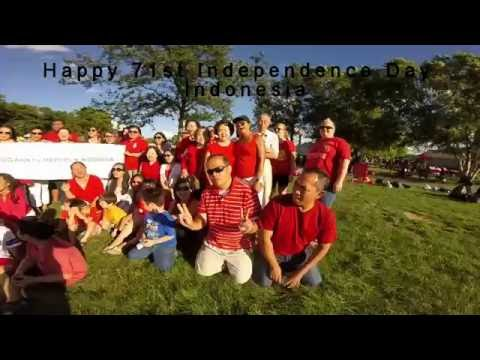 Indonesia Independence Day 2016 Celebration In Fishers, Indiana