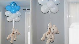 HOW To Make A Floating Teddy Bear BALLOON - Liliana Da Silva