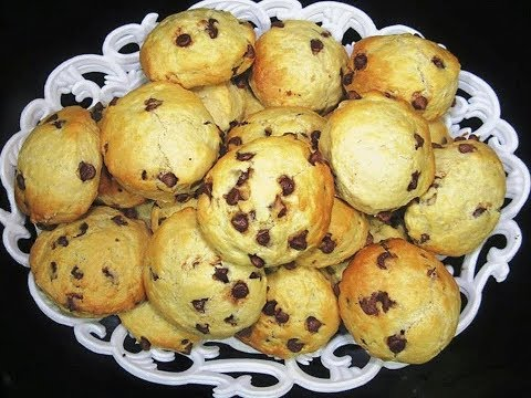Easy And Yummy Chocolate Chip Scones {Milk Scones With Chocolate Chips}
