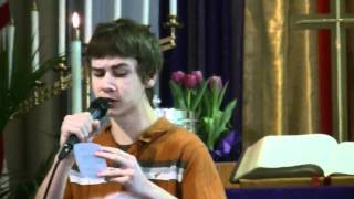 Hunter Cook singing The Old Rugged Cross by Alan Jackson