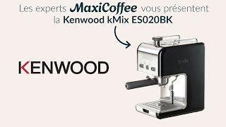KENWOOD KMIX ES020BK | Machine expresso compacte | Le Test MaxiCoffee