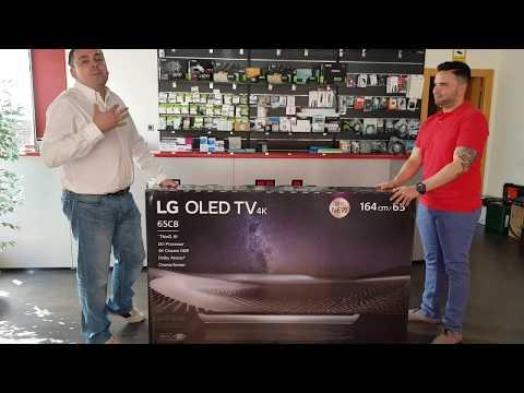 UNBOXING , LG OLED 65C8, 4K HDR , DOLBY VISIÓN