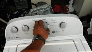 Reinicio de lavadora whirlpool