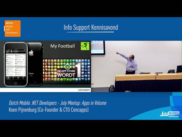 Apps in Volume (Koen Pijnenburg, Co-founder and CTO at …