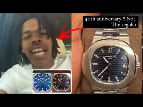 Lil Baby Goes Off On Jeweler After Getting Scammed 400K & Selling Him A Fake Watch